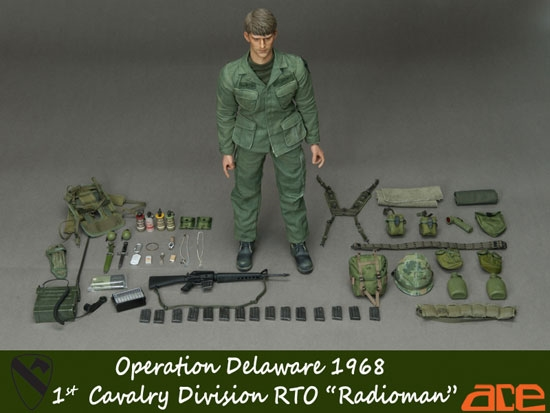 Ace 1st Cavalry Operation Delaware Figure