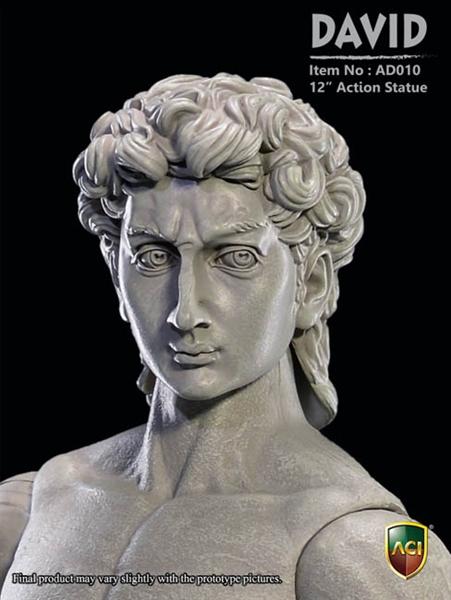David Marble Color Aci 1 6 Articulated Statue