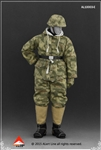 SS and Wehrmacht (Wehrmacht Sumpfmuster) Snow Reversible Cotton Padded Jacket Set - Alert Line