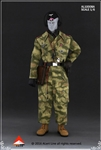 WWII SS Tank Crew Overalls Set in Swamp Camo - Alert Line 1/6 Scale Accessory