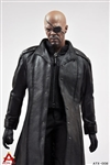 Leather Coat Suit Set - ACPlay - 1/6 Scale