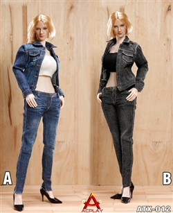 Cowgirl Clothing Set - AC Play 1/6 Scale Accessory Set
