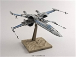 Resistance X-Wing Star Fighter - Star Wars: The Force Awakens - Bandai 1/72 Plastic Model
