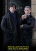 Sherlock Holmes and John Watson 1/6 scale collectible figures as pair by Big Chief