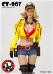 Handywoman Character Set - Yellow Version - CAT Toys 1/6 Scale Accessory