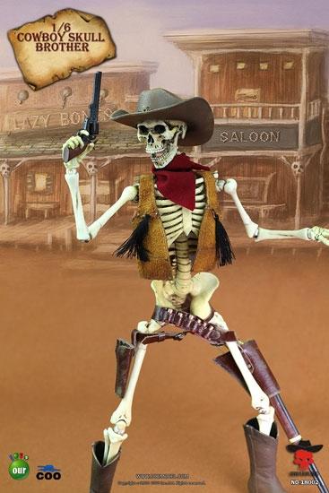 COO Skeleton Cowboy