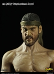 1/6 New 2.0 Muscular Lean Body with Short Beard
