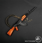 Russian AKM Assault Rifle - 1/6 Scale Accessory - Comanche Toys