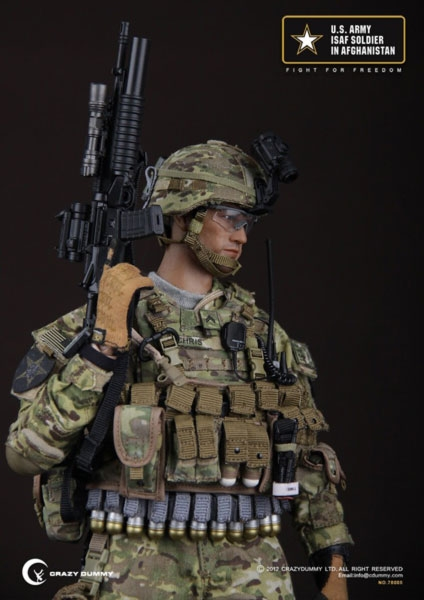 US Army ISAF Soldier in Afghanistan