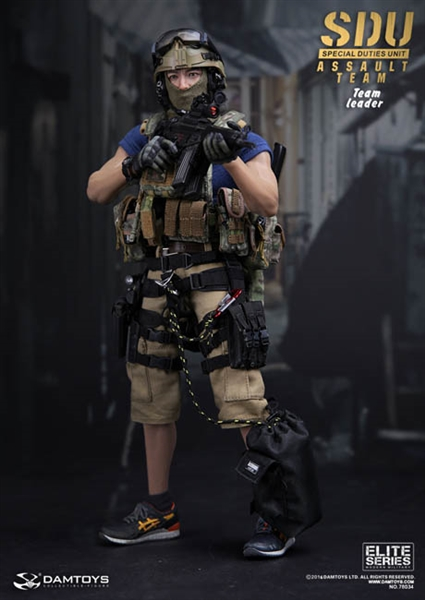 Sdu Assault Team Leader Special Duties Unit Dam Toys