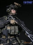 "FBI SWAT Team Agent - San Diego Midnight OPS ""B"" - DAM 1/6 Scale Figure"