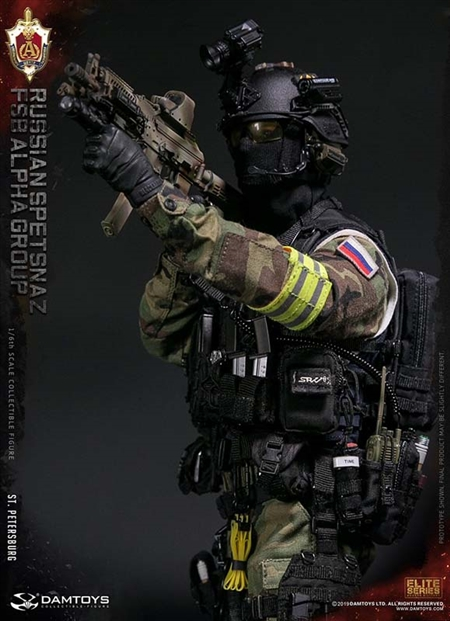 DAMTOYS 1//6 Russian Spetsnaz FSB Solider Action Figure Alpha Group St.Petersburg