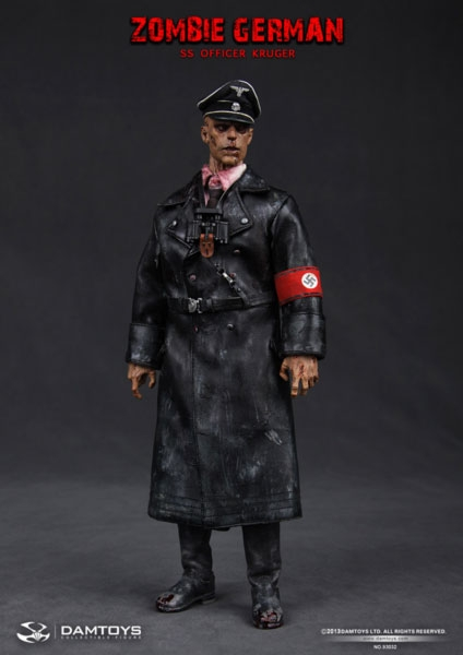 Zombie Ss German Kruger One Sixth Figure By Dam Toys