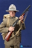 Buck Jones - American Expeditionary Force - 1917 - DID World War I Figure