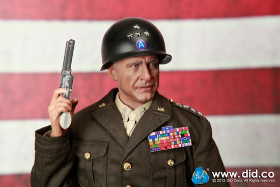 General Patton World War Ii Us General By Did A80088