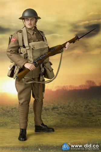 Did Albert Brown Wwi British Infantryman