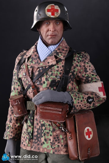 Peter Wwii German Waffen Ss Medic In 1 6 Scale