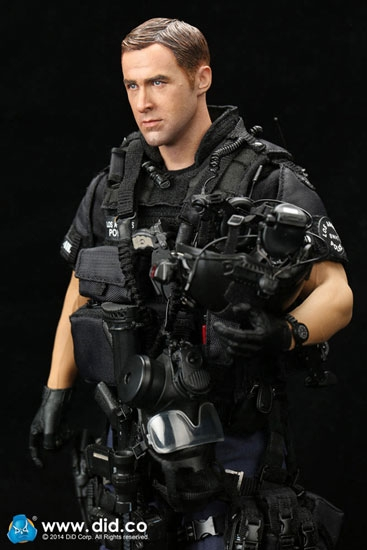 Lapd Swat Assaulter Driver Did 1 6 Collectible Figure