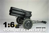 WWII German 1/6 Nebelwerfer - Grey or Yellow - DID