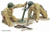 1/6 U.S. M2 Mortar & M1 Garand Rifle Model Kit