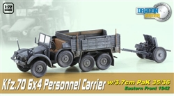 Dragon Armor 1/72 Kfz.70 6x4 Personnel Carrier w/3.7cm PaK 35/36