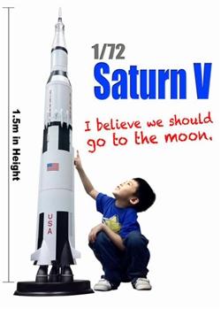 1 72 Saturn V Rocket By Dragon Models