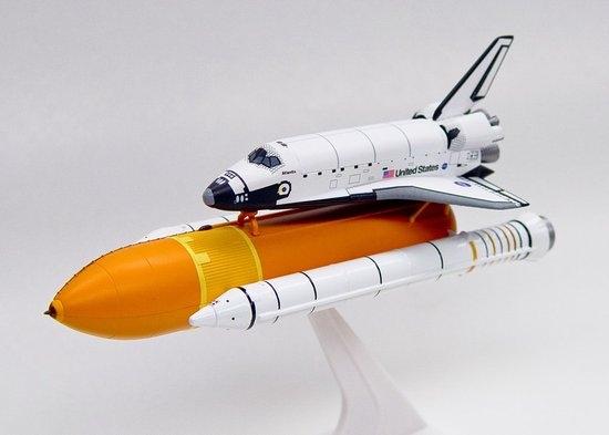 """1/400 Space Shuttle """"Atlantis"""" w/ SRB (Solid Rocket ..."""