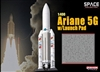 1/400 Ariane 5G Rocket w/Launch Pad (Space)