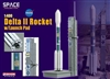 1/400 Delta II (7925) Rocket w/Launch pad (Space)