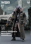 WOO Heavy Weapons Specialist - Devil Toys 1/6 Figure