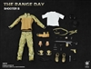 Range Day Shooter Gear Set B - Easy and Simple 1/6 Scale Accessory