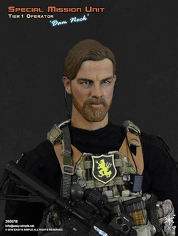 Dam Neck - Special Mission Unit Tier 1 Operators - Easy & Simple 1/6 Scale Collectible Figure