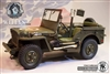 Willys 4x4 Utility Truck 1/4 Ton - Go Truck 1/6 Scale Metal Vehicle