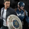 Captain America and Steve Rogers - Hot Toys Two-Pack - 902186