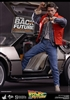DeLorean - Back To The Future - 1/6 Scale Vehicle - Hot Toys 902262