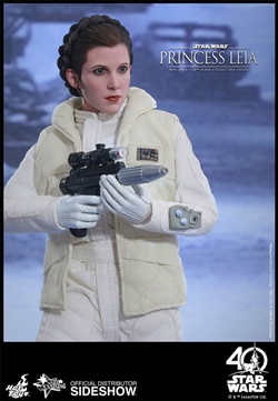 Princess Leia - Episode V: The Empire Strikes Back - Movie Masterpieces Series - Hot Toys 1/6 Scale Figure - 903034