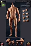 Generation K Male Headless Muscular Body - Version D