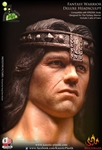 Fantasy Warrior Deluxe Head Sculpt - Kaustic Plastik 1/6 Accessory Set