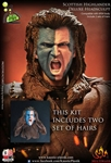 William Wallace: Scottish Highlander Deluxe Headsculpt Set
