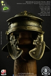 Roman Imperial Gallic Model H Helm - Bronzed Version - Kaustic Plastik Museum Collection 2014