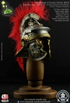 Optio Roman Imperial Gallic Model H Helm - Tinned Version - Kaustic Plastik Museum Collection 2014