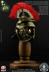 Centurion Roman Imperial Gallic Model H Helm - Bronzed Version - Kaustic Plastik Museum Collection 2014