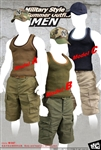 Military Style Summer Outfits - MC Toys