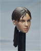 Female Character Head with Ponytail - 1/6 Scale