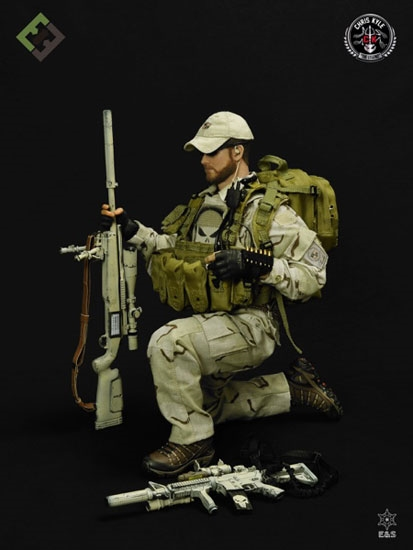 American Sniper Toys : Chris kyle figure deluxe version