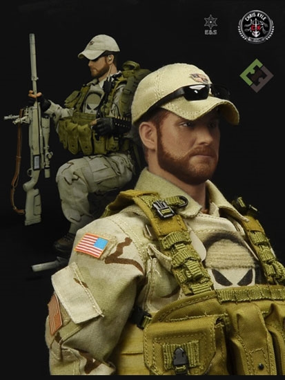 American Sniper Toys : Chris kyle figure set of two