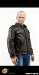 F10 Men's Leather Bomber Jacket Set B - Pop Toys