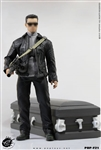 Leather Jacket Robot with a Coffin - Pop Toys 1/6 Scale Accessory Set