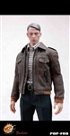 Leather Bomber Jacket Set - 1/6 Scale POP Toys