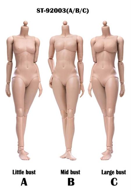 Super Flexible Female body Sun Tan POPTOYS 1//6 92003 XING Series Modified Ver